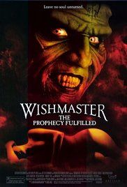 La Profezia Maledetta Streaming. In this fourth series of the hell-raising Wishmaster, the Djinn unleashes his undying love and three wishes on a beautiful new victim named Lisa, whose crucial third wish is one that the ...