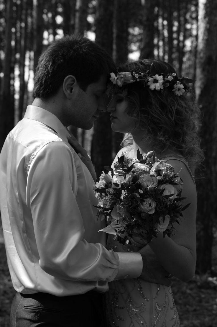 Wedding in forest