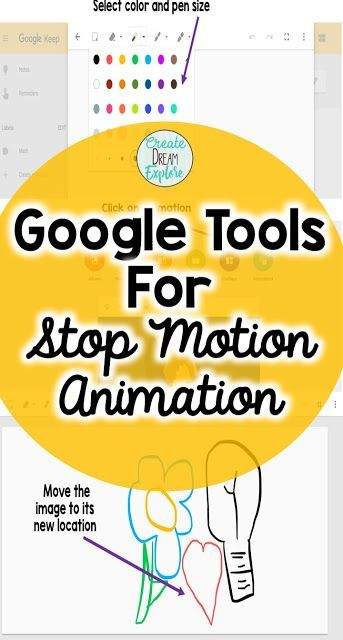 Using Google Suite Tools for Stop Motion Animation