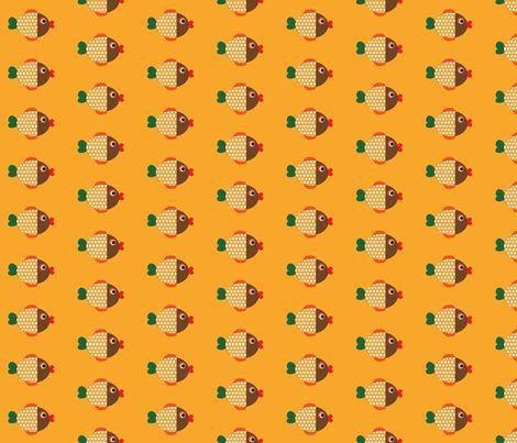Fish fabric by minneaa on Spoonflower - custom fabric