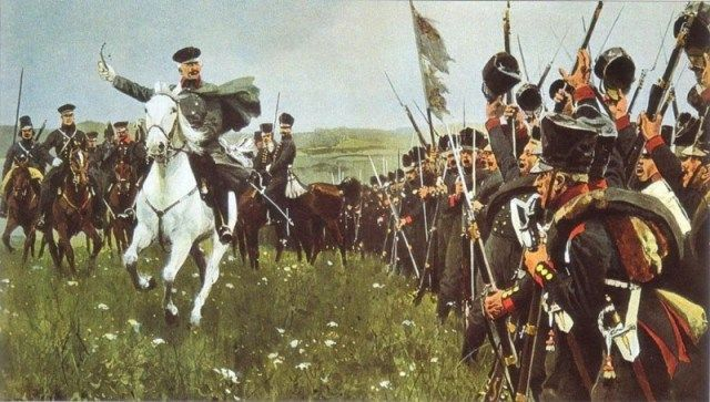 Prussian Field Marshal Blucher After Waterloo 1815