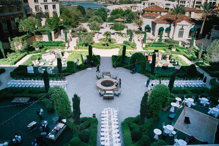Outdoor Garden Wedding in Las Vegas at the Hilton Lake Las Vegas | Outdoor Las Vegas wedding venues (Ivan Diana Photography)
