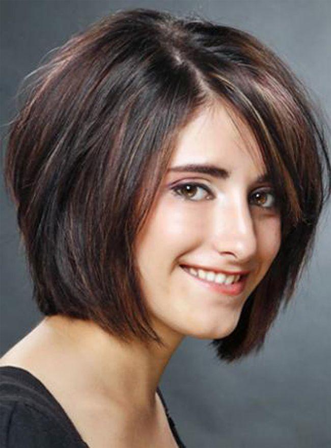 Mädchen Layered Bob Frisur für kurzes Haar 2016