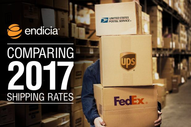 Comparing Shipping Rates in 2017: FedEx vs. UPS vs. USPS [INFOGRAPHIC] - Online Shipping Blog | Endicia