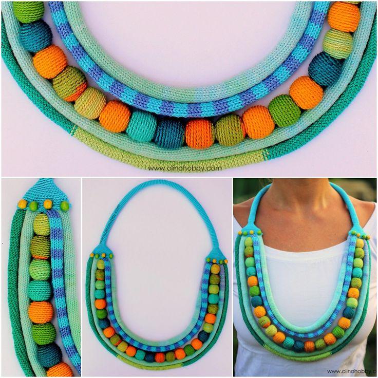 OlinoHobby: crochet necklaces