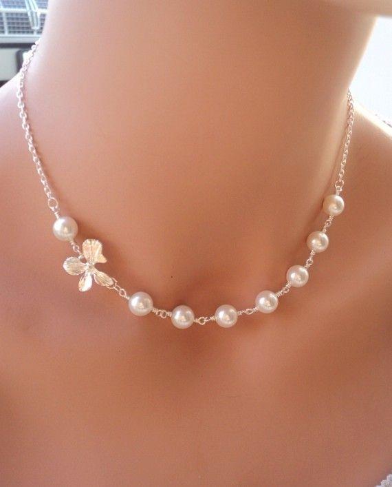 MOEDERS dag verkoop Swarovski Pearl en Orchid door RoyalGoldGifts