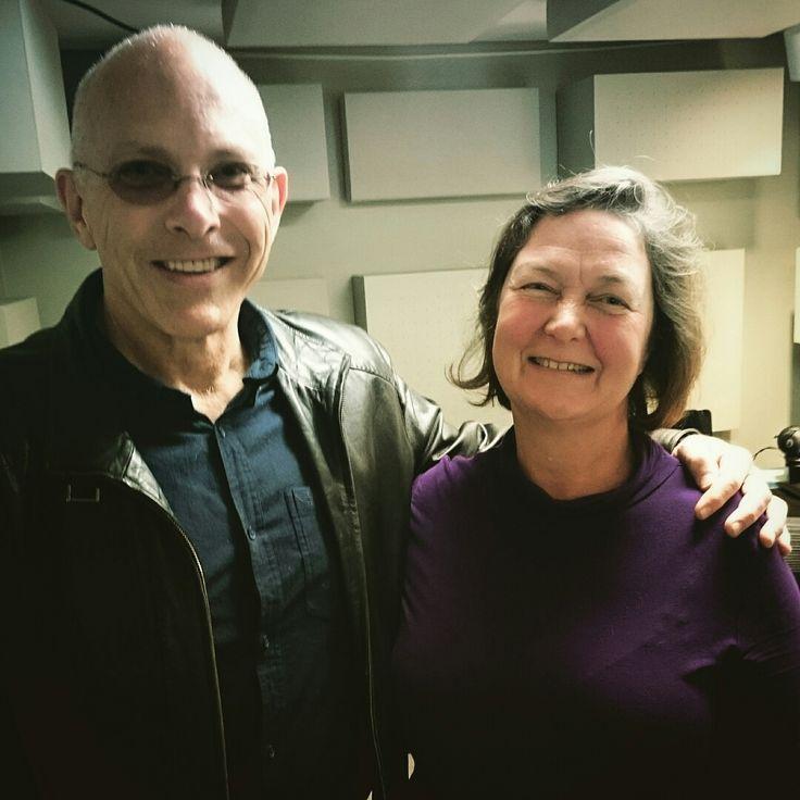 Nigel Westlake and Janine Burrus, July 2015