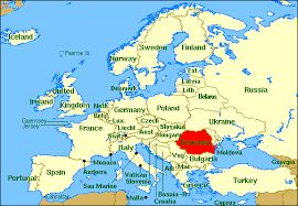 Image result for where is  romania located?