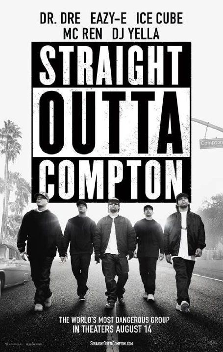 "Straight Outta Compton (2015) ... In 1988, a groundbreaking new group revolutionizes music and pop culture, changing and influencing hip-hop forever. N.W.A's first studio album, ""Straight Outta Compton,"" stirs controversy with its brutally honest depiction of life in Southern LA. With guidance from veteran manager Jerry Heller, band members Ice Cube, Dr. Dre, Eazy-E, DJ Yella and MC Ren navigate their way through the industry, acquiring fame, fortune and a place in history. (22-Mar-2016)"
