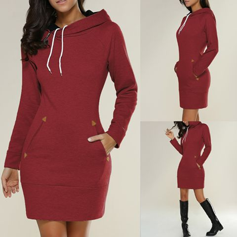 What a nice Hoodie Mini Dress