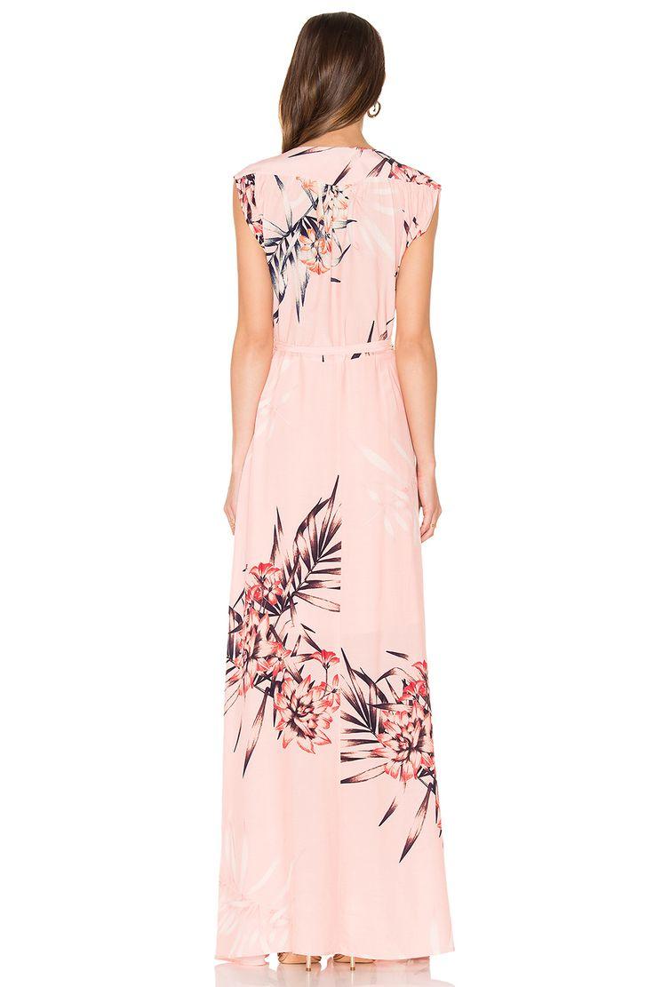 Yumi Kim Swept Away Maxi Dress em Tropical Tonic   REVOLVE