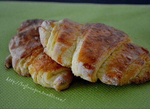 croissants et pains au chocolat sans gluten