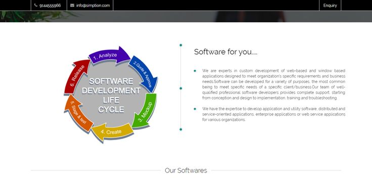 We are experts in custom development of web-based and window based applications designed to meet organization's specific requirements and business needs.Software can be developed for a variety of purposes, the most common being to meet specific needs of a specific client/business.Our team of well-qualified professional software developers provides complete support, starting from conception and design to implementation, training and troubleshooting.