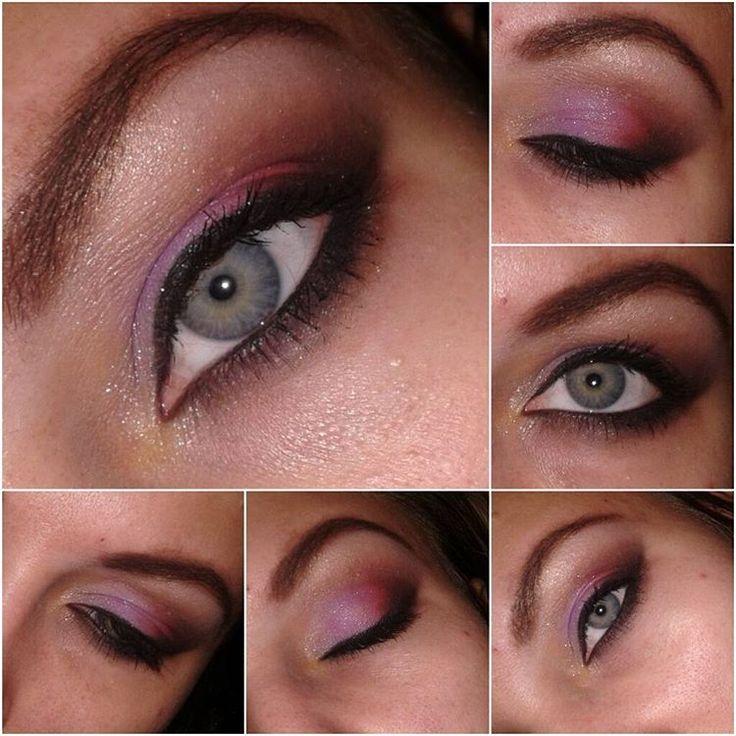 «Опять #макияж немножко в арабском стиле♥♥♥»