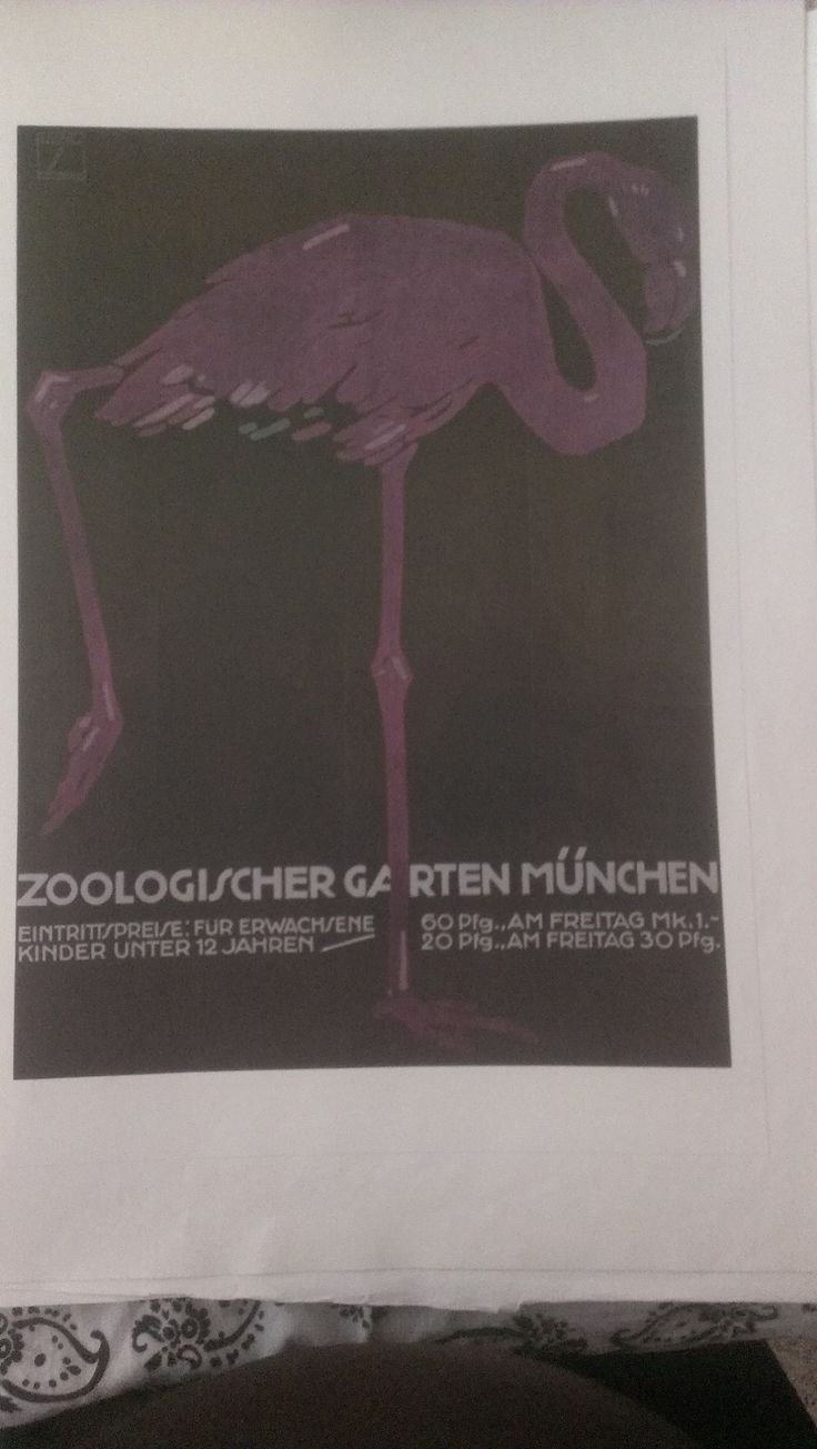 Awesome Zoologischer Garten M nchen by Ludwig Hohlwein done for the Munich Zoo
