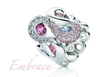 Rare pink and Blue diamonds. Wow