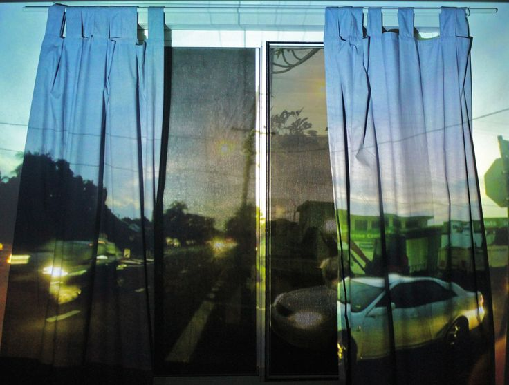 Traffic Curtains; projection, 2014.