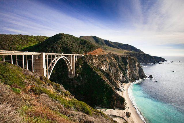 Central Coast of California, USA; Big Sur Coastline