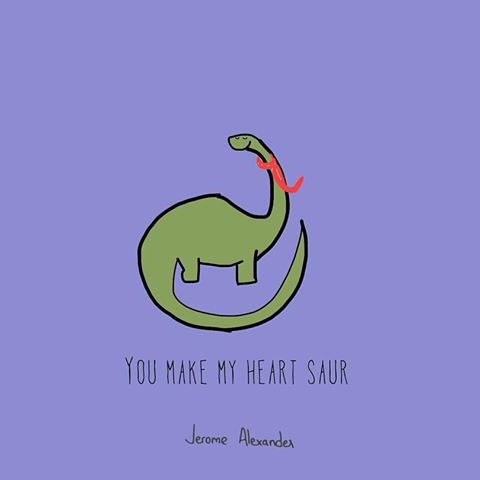 #puns #cartoon #illustration #punny #pun #punhumour #punhumor #love #odd #loveyou #puns #foodpuns #tiny #pickuplines #compliments #cute #lol #haha #you  #heart #soar #instalove #loveyou #dinosaur #toc #tinyoddcompliments