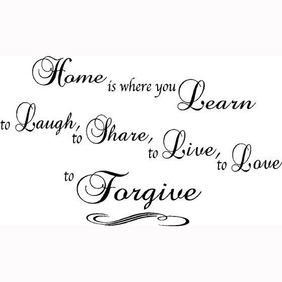 """www.limedeco.gr """" home is where you learn to laugh, to share, to live, to love, to forgive. """""""