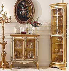 Mobili per il soggiorno classico e di lusso in stile veneziano e fiorentino…