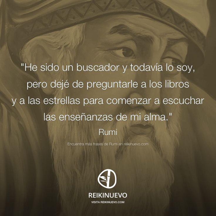 Rumi: Las enseñanzas de mi alma http://reikinuevo.com/rumi-ensenanzas-alma/