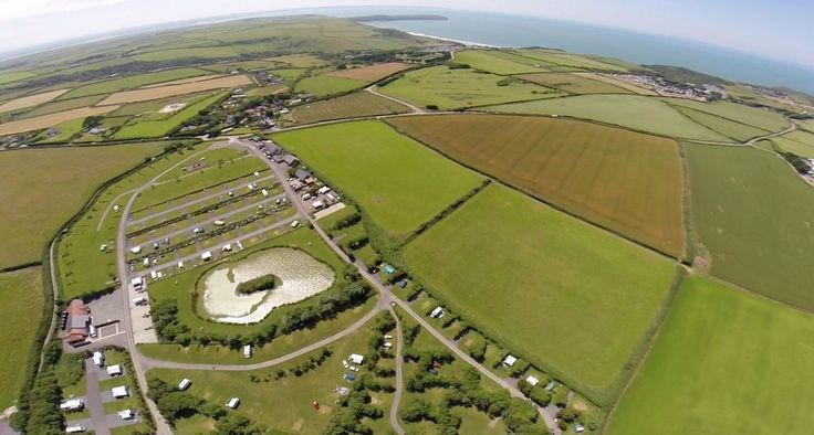 Warcombe Farm Camping park, Mortehoe, North Devon, UK, England.  Holiday. Travel. Accommodation. #AroundAboutBritain. Campsite. Camping.