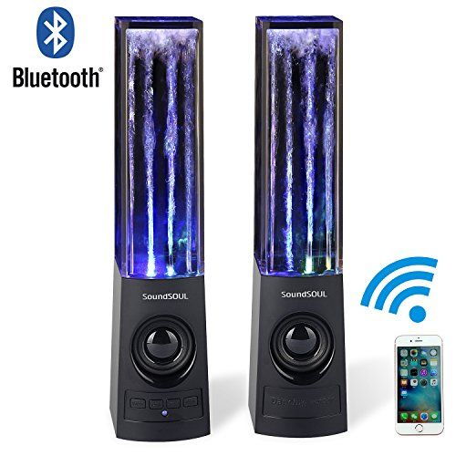 Buy Soundsoul Wireless Bluetooth Music Fountain Dancing Water Speakers (Black) at 40% Off - http://reviewsv.com/carkits/buy-soundsoul-wireless-bluetooth-music-fountain-dancing-water-speakers-black-at-40-off/