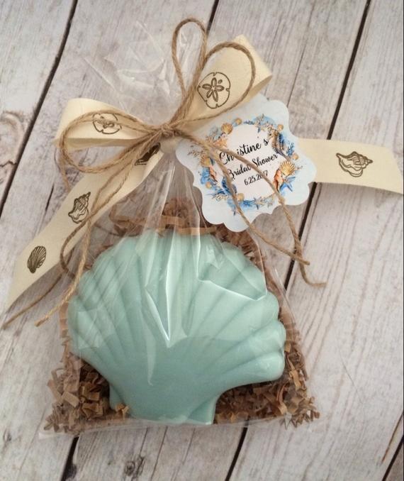 Beach Ocean Theme Sea Shell Ocean Soap Birthday Wedding Or