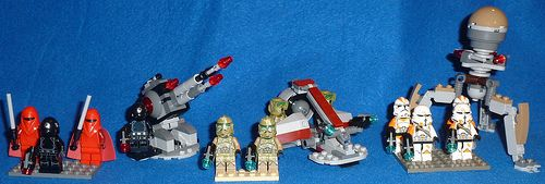 2014 Lego Star Wars Battle Packs: 75034 - Death Star Troopers: great figures with a great cannon 75035 - Kashyyyk Troopers: cool troopers with OK mini vehicle 75036 - Utapau Troopers: awesome figures with surprisingly good droid