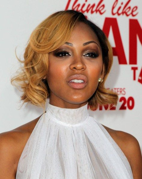 Meagan Good African American short natural hairstyle