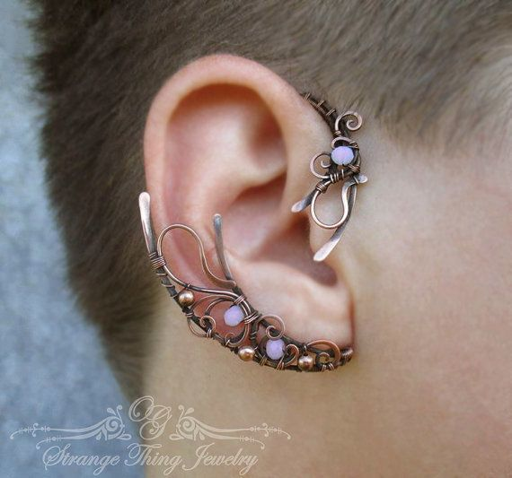 Hey, I found this really awesome Etsy listing at https://www.etsy.com/listing/248640959/pair-of-ear-cuffs-my-moon