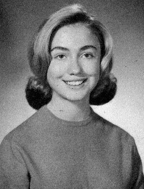 Hillary Clinton is embroiled in a heated political battle that could see her make history as the first female U.S President. But that probably won't come as any surprise to her classmates at Maine South High School in suburban Park Ridge, Illinois. Mrs. Clinton, then known by her maiden name of Hillary Rodham, went to the newly built high school for her senior year in 1964 and 1965. And the school's 1965 senior yearbook is packed full of references to Hillary's achievements and talents. A…