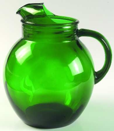 187 Best Images About Dark Green Depression Glass On