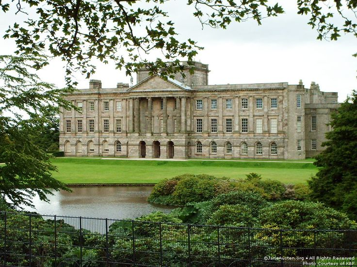 Pemberley, at least according to the movie