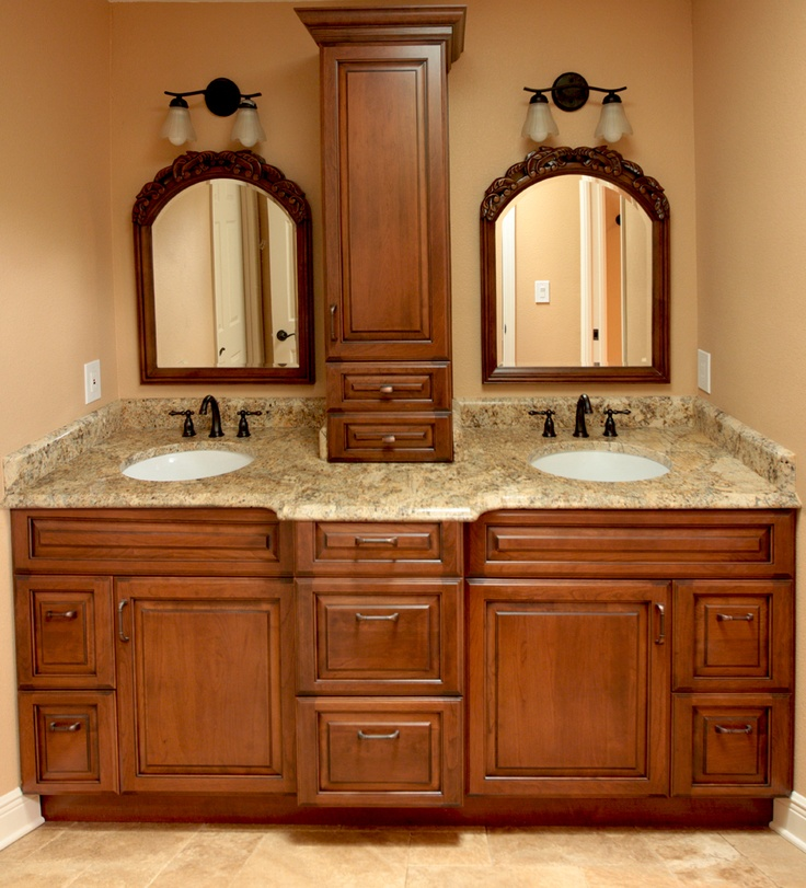 Custom Bathroom Vanities With Makeup Area Woodworking Projects Plans