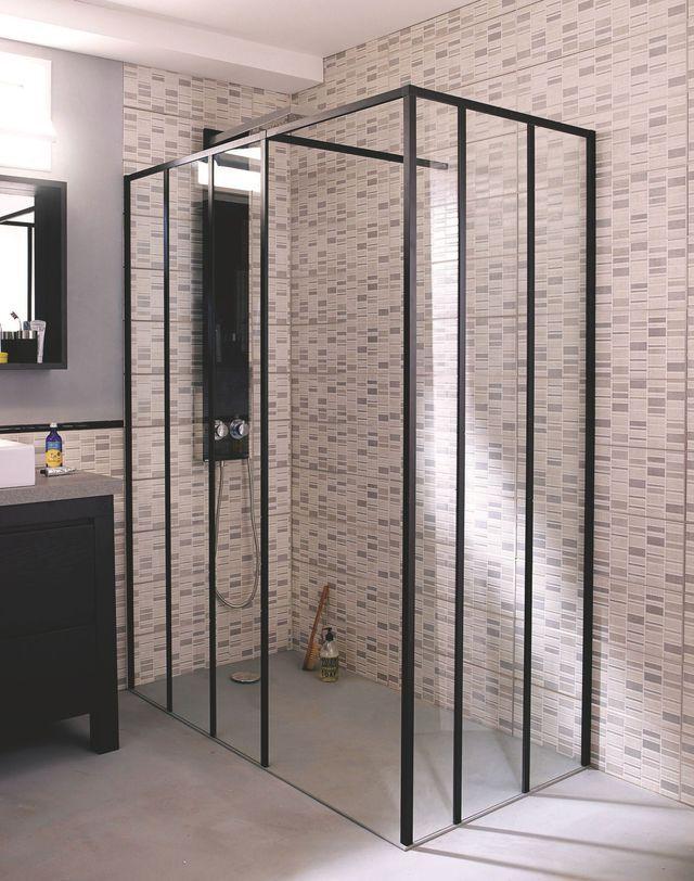 Douche à l'italienne dans la salle de bains : nos conseils d'installation - Côté Maison
