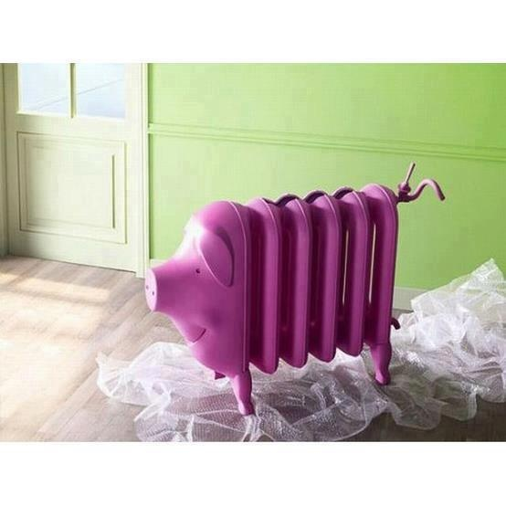 A pig radiator ..... or a radiator pig.......