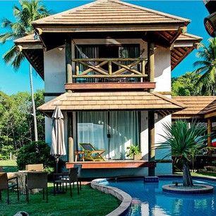A expectativa da casa de praia: um quarto para cada um, relax e silêncio.   A expectativa x a realidade do verão