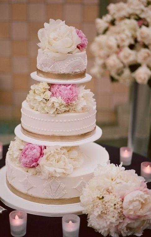Wedding cake idea; Featured Photographer: Frame 36 Photography