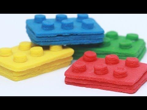 LEGO PINATA COOKIES - NERDY NUMMIES - YouTube