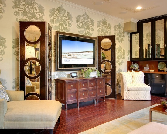 Hollywood Regency. FlatscreenFlat Screen TvsLiving Room ...