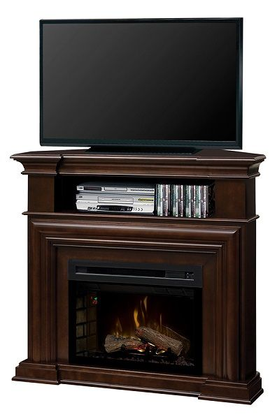 """Dimplex Montgomery electric fireplace media cabinet with 25"""" firebox; $999 cdn."""