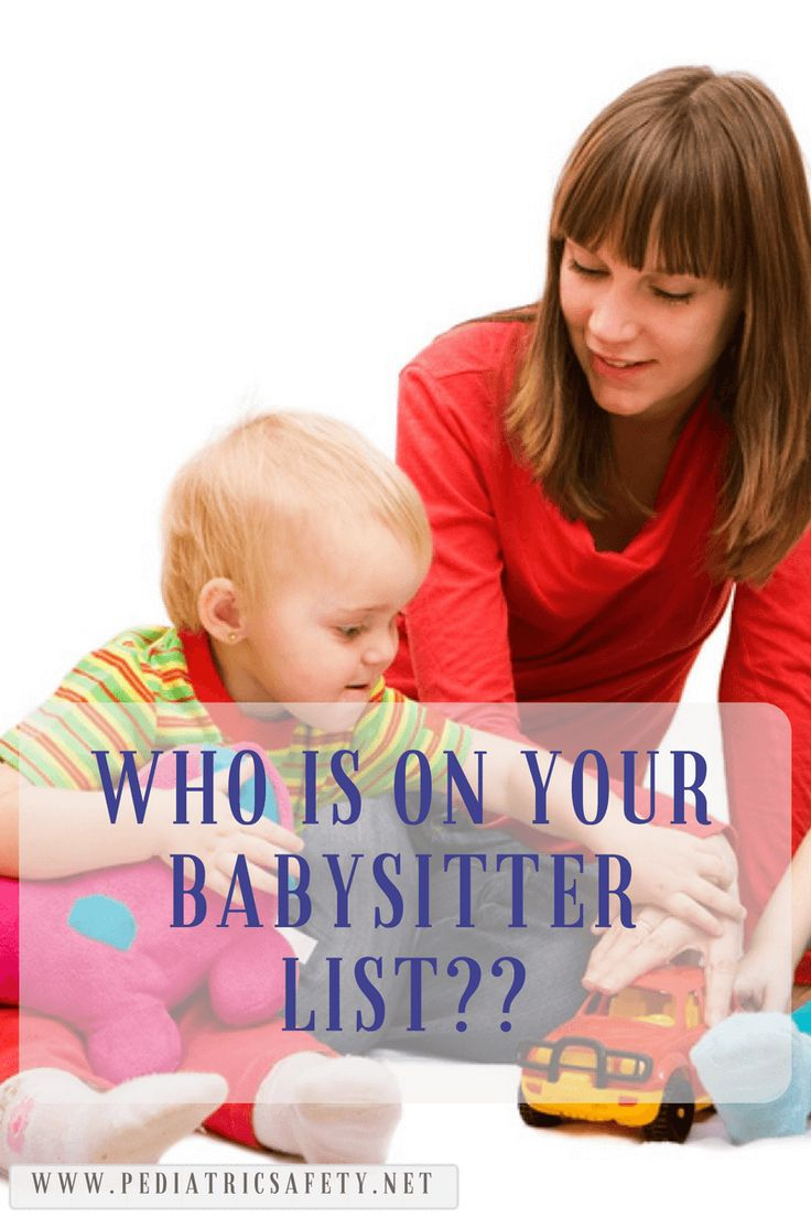 Who is on your babysitter list?   My most used and treasured resource from the mom's network is the babysitting list. What stands out - Red Cross Babysitting class or First Aid class. Read more here...