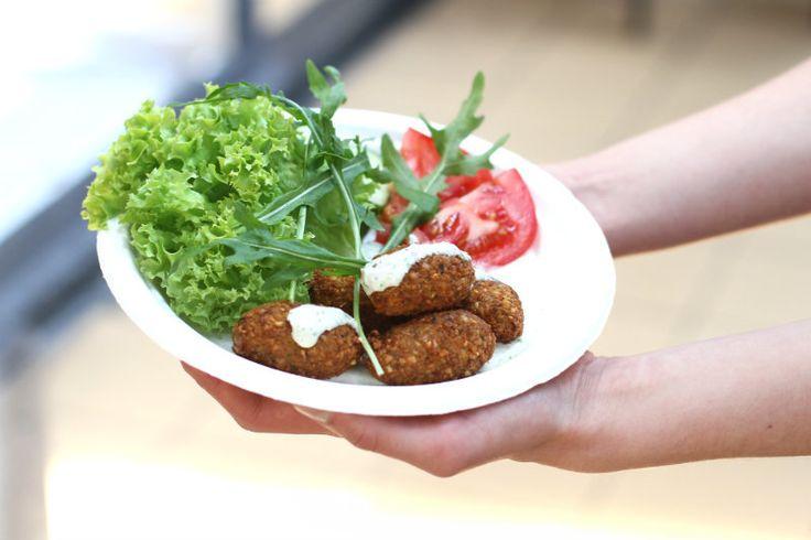 За еду: вегетарианские блюда от Vegano Hooligano | Фалафель
