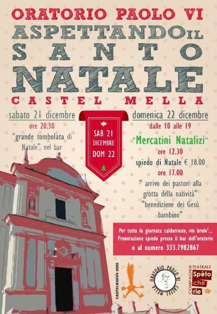 Aspettando il Santo Natale a Castel Mella http://www.panesalamina.com/2013/19408-aspettando-il-santo-natale-a-castel-mella.html