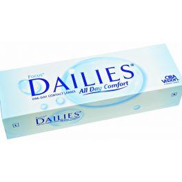 Soczewki Focus Dailies nie wymagają kłopotliwej codziennej pielęgnacji, ponieważ przeznaczone są do jednodniowego noszenia. Każdego dnia nakładasz nową, świeżą parę soczewek, dzięki czemu Twoje oczy nie są narażone na osady, powstające na powierzchni szkieł.
