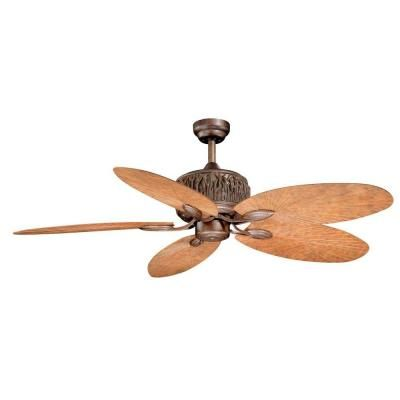 AireRyder Aspen 52 In Weathered Patina Indoor Outdoor Ceiling Fan FN52307WP