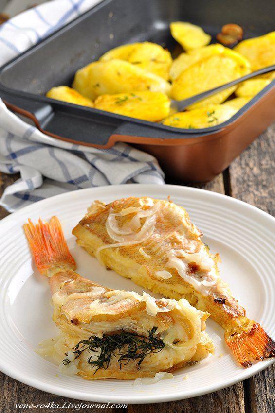 Запечённый молодой Картофель и окунь в рукаве. Такую запеченную картошку рекомендую для диеты №1. Картофель здесь предварительно отваривается до полу-готовности, и после запекания он не будет сильно…