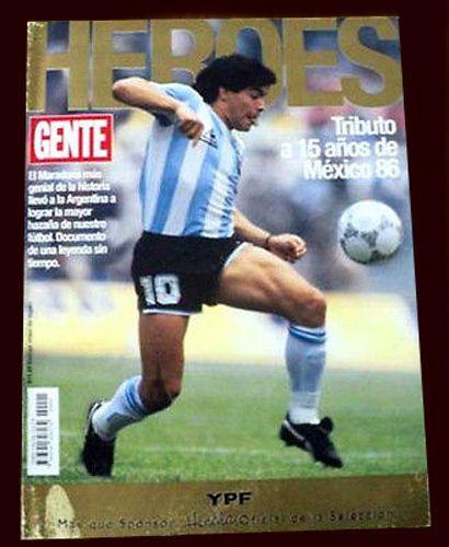 FIFA WORLD CUP 1986 15 Anniversary Heroes RARE SPECIAL Diego Maradona Magazine  | eBay